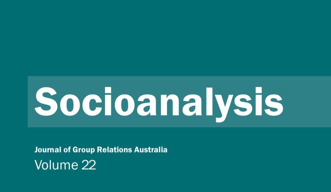 Socioanalysis – Volume 22